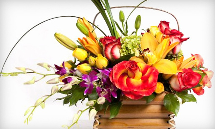 Lexis Florist - Woodlake/ Briar Meadow: Flowers and Gifts or Flower-Arranging Class at Lexis Florist