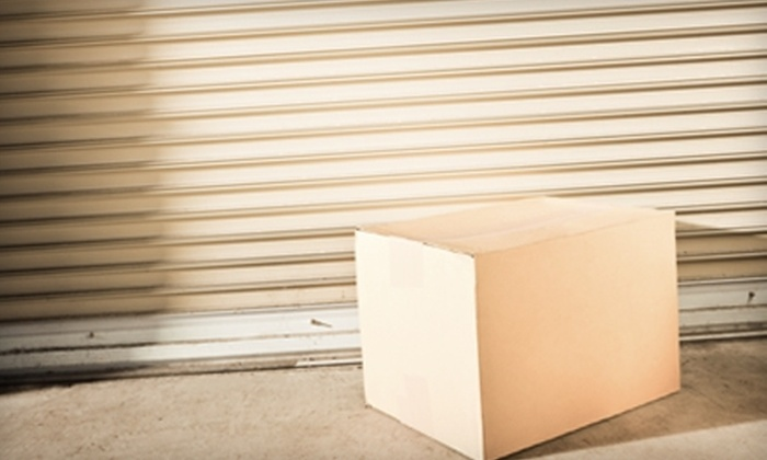 A Mini Flex Self Storage - Montgomery: $30 for One Month's Use of a Climate-Controlled 10'x10' Storage Unit Plus Boxes, Packing Tape, and Padlock at A Mini Flex Self Storage ($113.33 Value)