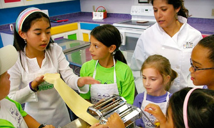 Young Chefs Academy - Woodward Park: $30 for Two Kids' Cooking Classes at Young Chefs Academy ($60 Value)