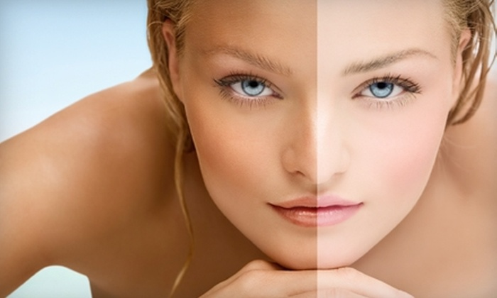 Pacific Coast Tans - Multiple Locations: $32 for an Airbrush Tan or One Month of Unlimited Silver-Level Tanning at Pacific Coast Tans ($65 Value)