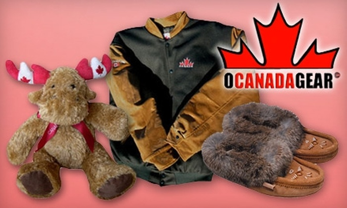 O'Canada Gear - Ritchie: $25 for $50 Worth of Souvenirs and Giftware at O'Canada Gear