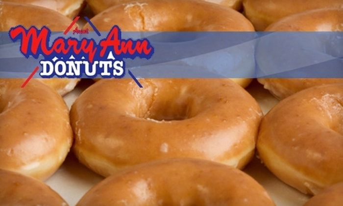 Mary Ann Donuts - Multiple Locations: $5 for $10 Worth of Donuts and More at Mary Ann Donuts