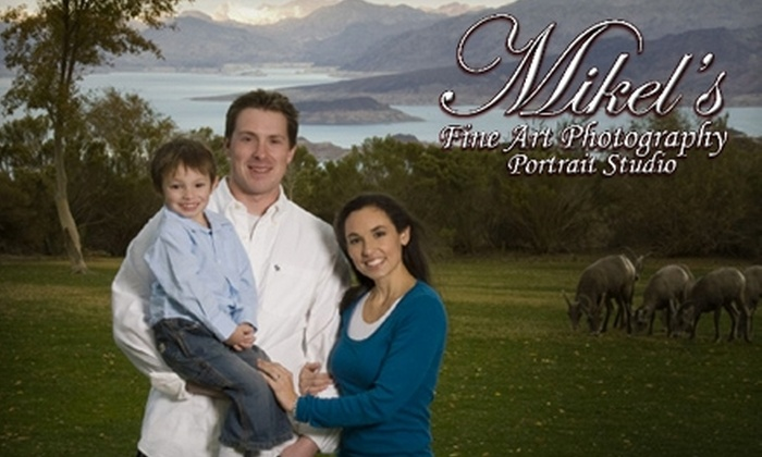 Mikel's Fine Art Photography Portrait Studio - Townsite: $49 for Portrait Photography Shoot and Prints from Mikel's Fine Art Photography Portrait Studio in Henderson ($270 Value)