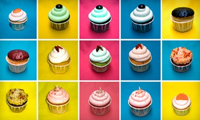 Cups and Cakes - SoMa: $25 for a Box of 24 Assorted Classic and Specialty Mini Cupcakes at Cups and Cakes ($50 Value)