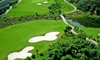 The Elms Golf Course - Sandy Creek: 18-Holes of Golf with Power Cart Rental for Two or Four at The Elms Golf Course (Up to 49% Off)