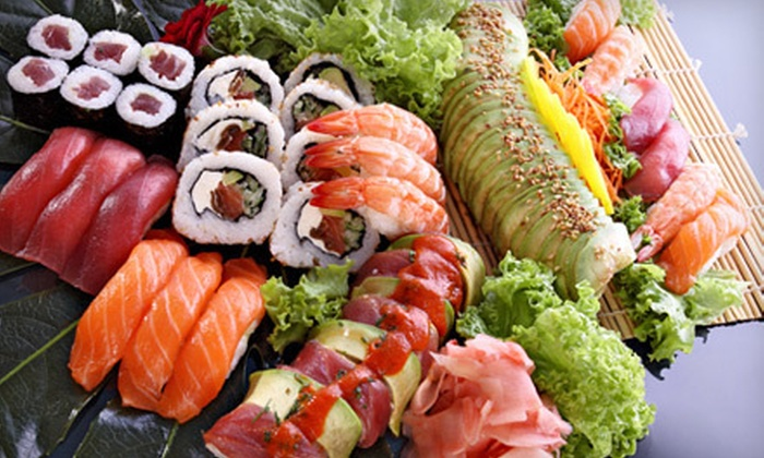 Blue Yuu - Raytown: Pan-Asian Food and Sushi for Lunch or Dinner at Blue Yuu (Half Off)