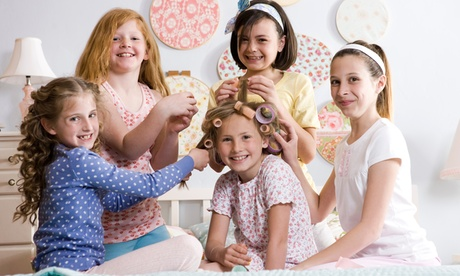 Alice in Wonderland Dress-Up Spa Party for One or Four Children at Royal Day Spa (Up to 50% Off)