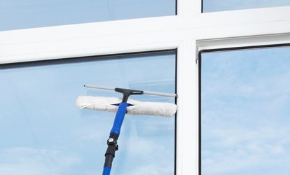 image for Window Cleaning from Riley's Cleaning Service (Up to 10% Off). Three Options Available.