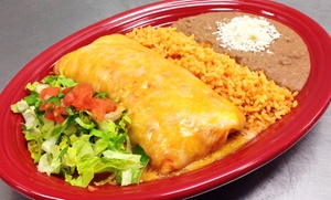 $10 For $20  Worth Of Mexican Food At El Taco Burrito