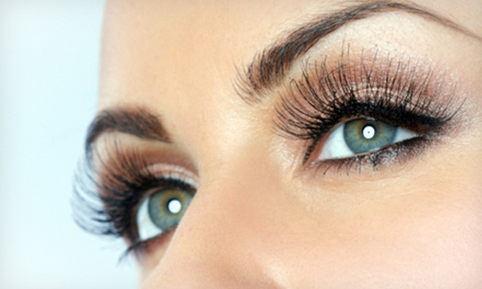 54fe6300af0 Mink Eyelash Extensions - Caesar Spa | Groupon