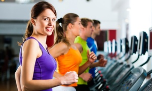 PT Gym: One-Month Membership with Option for Month of GRIT Personal Training at PT Gym (Up to 68% Off)