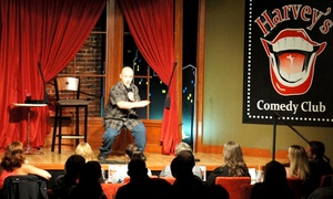 Harvey's Comedy Club: Standup Show for Two, Four, or Six at Harvey's Comedy Club (Up to 48% Off)