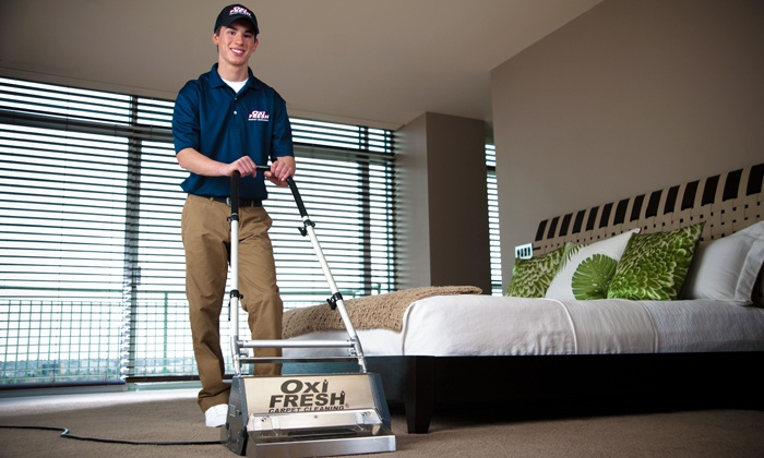 Carpet or Upholstery Cleaning from Oxi Fresh Carpet Cleaning (Up to 46% Off).  Three Options Available.