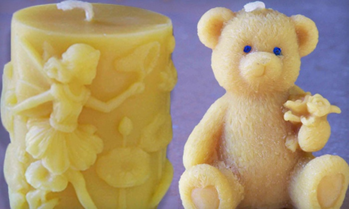 Thank Nature - Cotati: $29 for a Beeswax-Candle-Making Class at Thank Nature in Cotati ($65 Value)