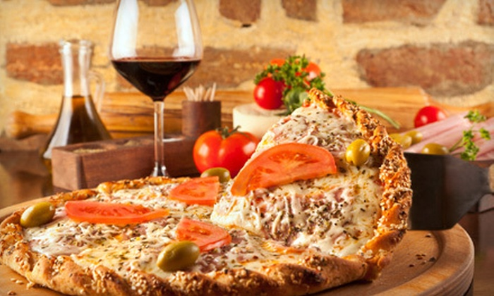 Talayna's Italiano's - Chesterfield: Pizza Dinner for Two, or Italian Meal for Two or Four at Talayna's Italiano's in Chesterfield (Up to 52% Off)
