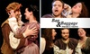 """Bag & Baggage Productions - Hillsboro: $11 Ticket to """"Taming of the Shrew"""" and """"The Woman's Prize"""" by Bag and Baggage Productions at the Venetian Theatre (Up to $23 Value). Buy Here for Sunday, February 21, at 2 p.m. Click Below for Additional Dates and Times."""