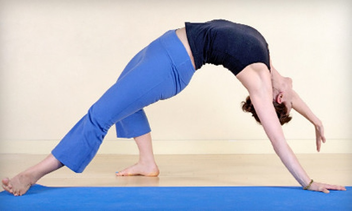 Realize Yoga - Saskatoon: $25 for 10 Drop-In Yoga Classes at Realize Yoga ($50 Value)