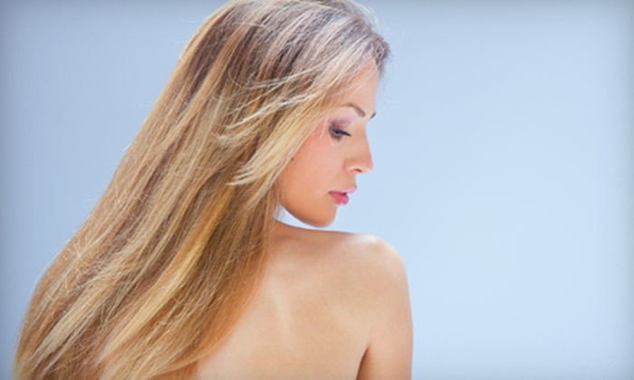Coco 10 Salon - Los Gatos: Haircut, Thermal Style, and Sheer Color Gloss or Hair Extensions at Coco 10 Salon in Los Gatos