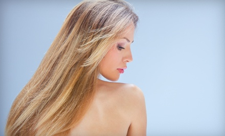 Haircut, Thermal Style, and Sheer-Color-Gloss Treatment (a $145 value) - Coco 10 Salon in Los Gatos