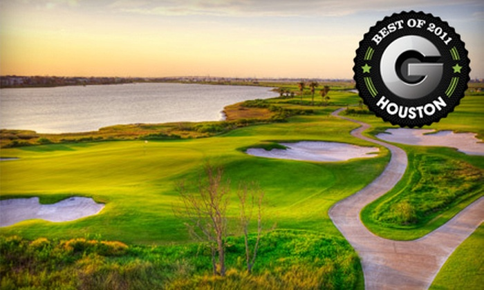 Moody Gardens Golf Course - Galveston: Golf Outing for One, Two, or Four with Cart, Balls, and Meal at Moody Gardens Golf Course in Galveston (Up to 64% Off)