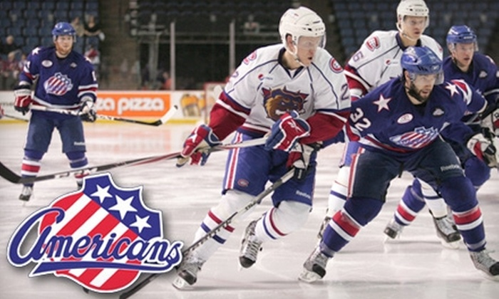 Rochester Americans - Central Business District: $11 for One Premium Ticket to a Rochester Americans Hockey Game (Up to $22 Value). Choose From Two Games.