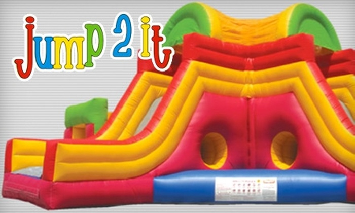 Jump 2 It - Peachtree City: $10 for Four Open-Jump Passes at Jump 2 It in Peachtree City ($20 Value)