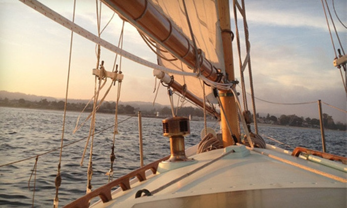 California Classic Sail - Capitola: $49 for a Three-Hour Sailing Tour for Two from California Classic Sail ($103.33 Value)