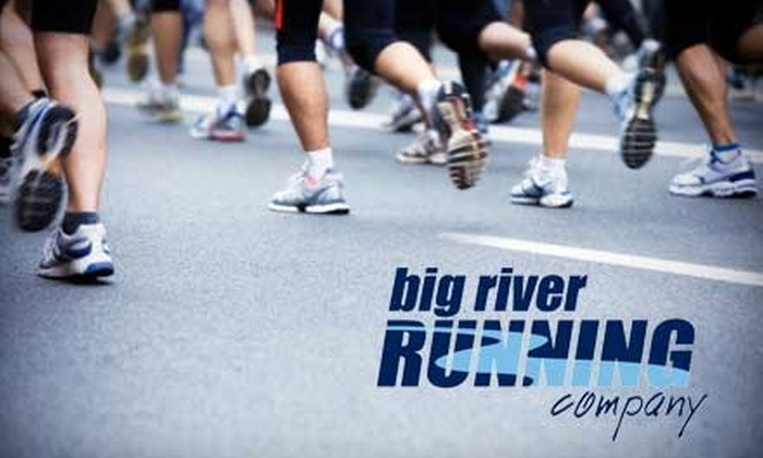 Big River Running Company - Multiple Locations: $25 for $50 Worth of Running Shoes and Apparel at Big River Running Company
