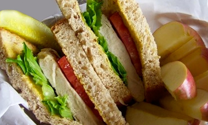 Peaberry's Café & Bakery - Canfield: $5 for $10 Worth of Paninis, Soups, Salads, and Espresso Drinks at Peaberry's Café & Bakery in Canfield