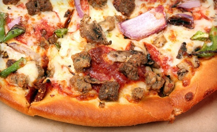 One Large Specialty or Four-Topping Pizza and Two Drinks - Jimmy Ikes Restaurant & Pizzeria in Clearwater