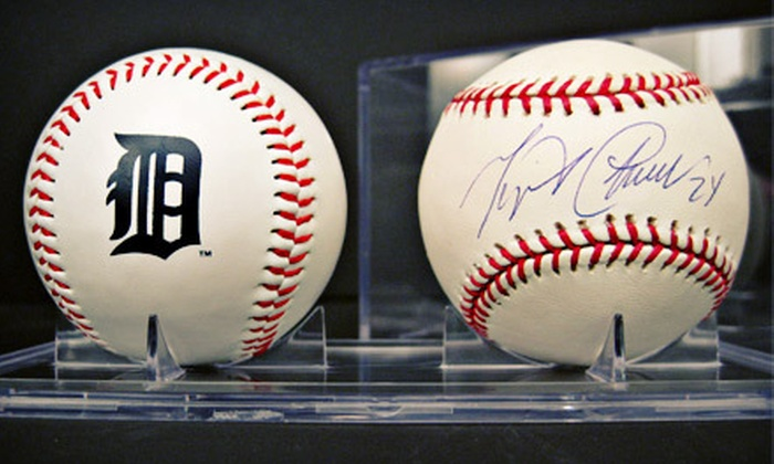 The Art of Custom Framing - Clawson: Miguel Cabrera Autographed Memorabilia or $25 for $50 Worth of Artwork at The Art of Custom Framing (Up to 51% Off). Four Options Available.