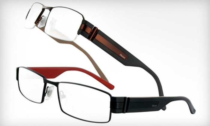 Optical Thirty 8 - Fashion District: $19 for $150 Worth of Prescription Eyeglasses and Prescription Sunglasses at Optical Thirty 8