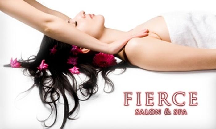 Fierce Salon & Spa - Nashville-Davidson metropolitan government (balance): $45 for a 30-Min. Massage at Fierce Salon & Spa