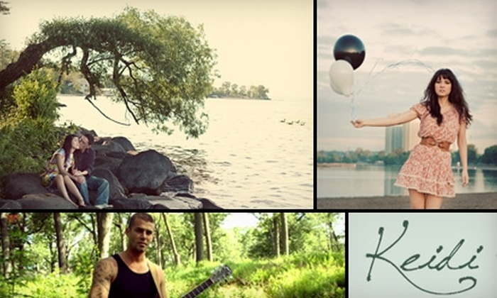 KeiDi Photography  - Toronto (GTA): $50 for a One-Hour Portraiture Session and CD with Five Images from KeiDi Photography