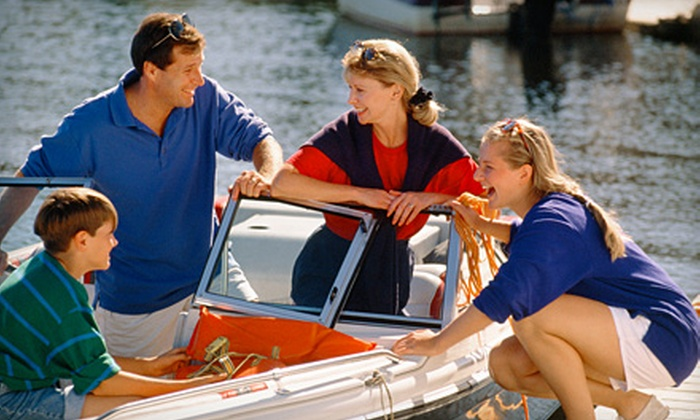 Carefree Boat Club - Multiple Locations: $149 for a Four-Hour Boat Rental from Carefree Boat Club ($499 Value)