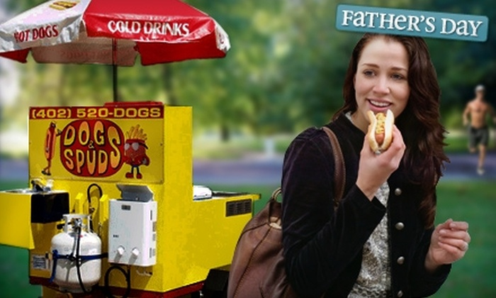 Dogs & Spuds - Lincoln: Catering from Dogs & Spuds. Two Options Available.