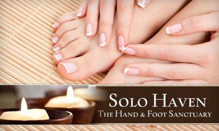 Solo Haven The Hand & Foot Sanctuary - Marietta: $25 Mani-Pedi at Solo Haven The Hand & Foot Sanctuary