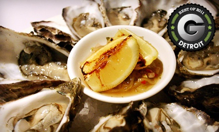$25 Groupon to Tom's Oyster Bar - Tom's Oyster Bar in Royal Oak
