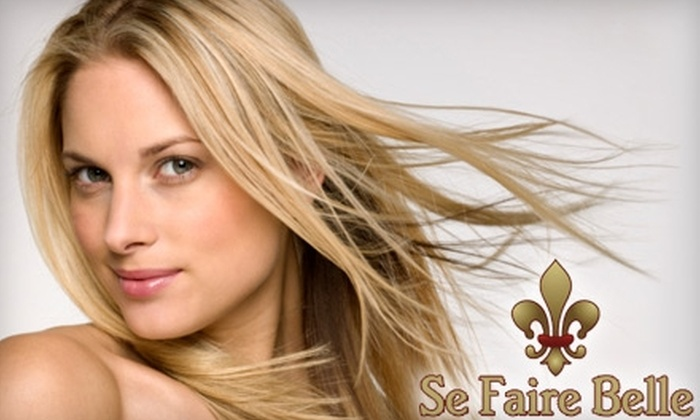 Se Faire Belle Salon - Meadowbrook Heights: $50 for $100 Worth of Haircut, Coloring, and Waxing Services at Se Faire Belle Salon and French Boutique