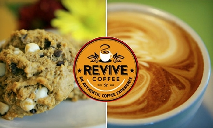 Revive Coffee - Nevada / Lidgerwood: $5 for $10 Worth of Coffee and Eats at Revive Coffee