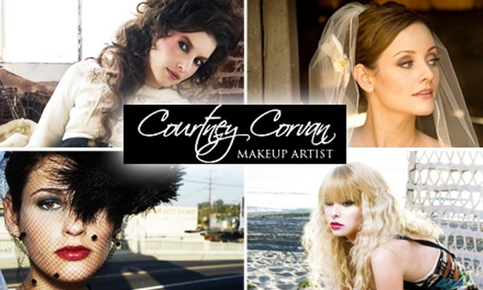 Makeup Artist Courtney Corvan at - Park East: $45 for Beautification from Celebrity Makeup Artist Courtney Corvan ($150 Value)