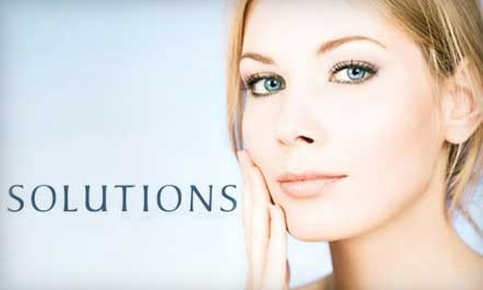 Solutions Skincare & Laser Center - Decatur: $50 for a Chemical Peel ($105 Value) or $35 for a Microdermabrasion Treatment ($75 Value) at Solutions Skincare & Laser Center in Decatur