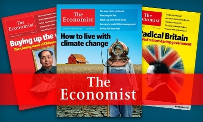 """""""The Economist"""" - Rochester: $51 for 51 Issues of """"The Economist"""" ($127 Value)"""