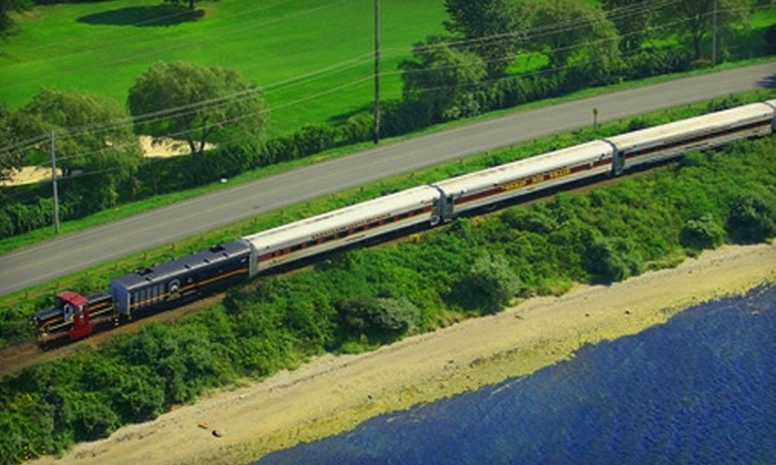 Newport Dinner Train - Newport: $15 for Two Islander Touring Train Tickets from the Newport Dinner Train in Newport