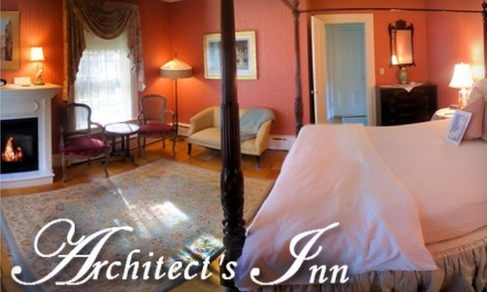 Architect's Inn Bed and Breakfast - Newport: $199 for a One-Night Stay at Architect's Inn Bed and Breakfast