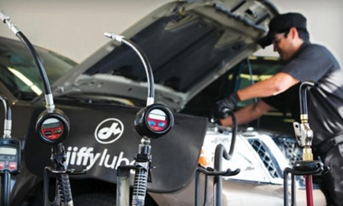 Jiffy Lube - Multiple Locations: Jiffy Lube Signature Service Oil Change, Tire Rotation, and Rain-X Original Glass Treatment