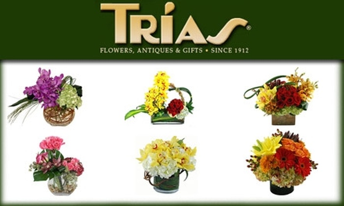 Trias Flowers, Antiques & Gifts - South Miami: $10 for $20 Worth of Gifts from Trias Flowers, Antiques & Gifts