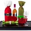 2-Pack of Christmas Wine-Bottle Holders