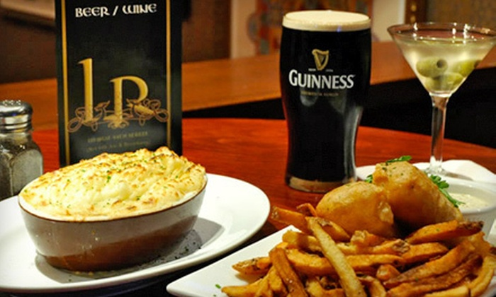 The Long Room - New York: $30 Worth of Gastro-Pub Fare