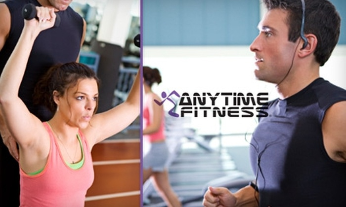 Anytime Fitness - Multiple Locations: $30 for 30 Days of Fitness & Tanning at Anytime Fitness ($306 Value)